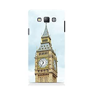 Motivatebox - Clock Tower View Samsung Galaxy Grand 2 G7106 cover - Matte Polycarbonate 3D Hard case Mobile Cell Phone Protective BACK CASE COVER. Hard Shockproof Scratch-Proof Accessories