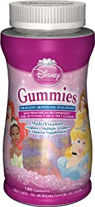 Disney Princess Multi Vitamin Gummies, 180-Count