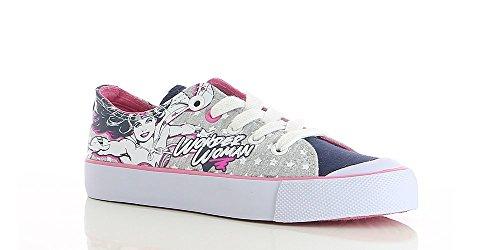 DC Comics Wonder Woman Girls' Sneaker, Size 11