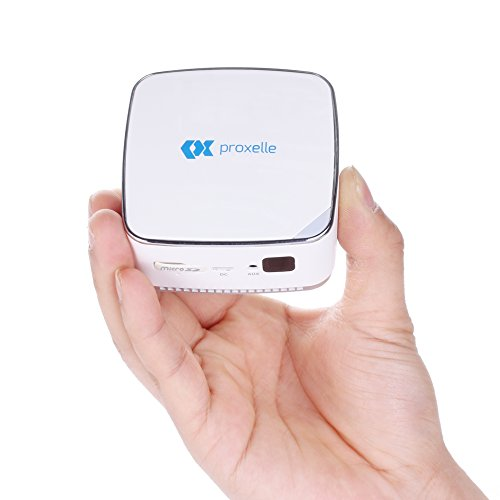 Pico Projector, Mini Size, Fits in your pocket, Completely Wireless with 10-80
