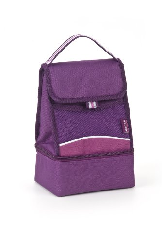 Polar Gear 2 Compartment Cooler in Berry
