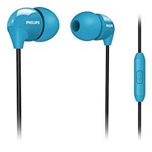 Amazon.com: Philips SHE3575BB/28 In-Ear Headset (Blue): Electronics