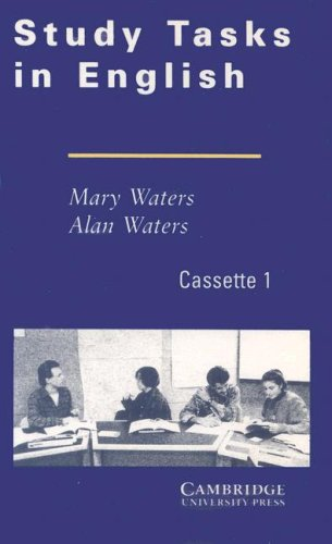Study Tasks in English Cassettes (2) (Cambridge mathematical library), by Mary Waters, Alan Waters