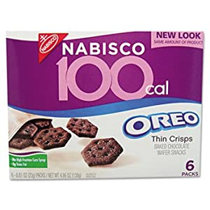 6 Pack 100 Calorie Packs Oreo Cookies, 6/Box by Nabisco. (Catalog Category: Office Maintenance, Janitorial & Lunchroom / Food & Beverage)