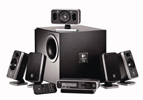 Logitech Z-5400 5.1 Speaker THX 310 W RMS  PC-Lautsprecher-System