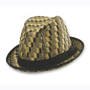 Toyo fedora ribbon hat