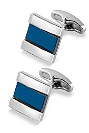 Contrast Centre Square Cufflinks