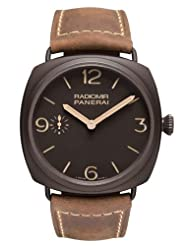 Best Price Panerai Radiomir Composite Brown Dial Brown Leather Mens Watch PAM00504