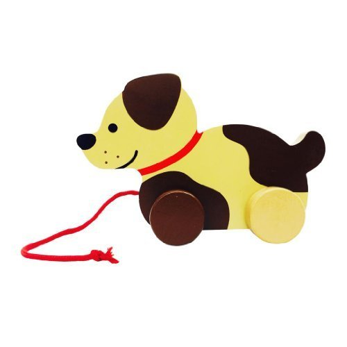 Wooden Dog Pull Toy - 1