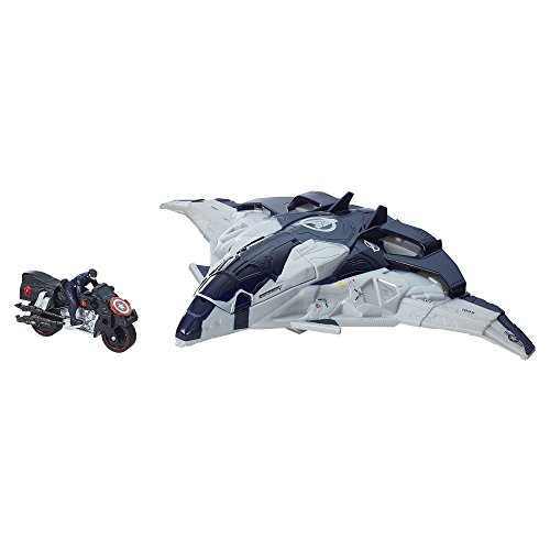 Marvel Avengers Age of Ultron Cycle Blast Quinjet Vehicle