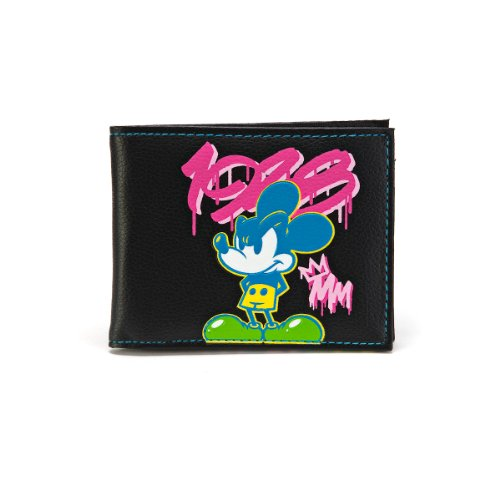 Disney Mickey Mouse 1928 Graffiti Bifold Wallet - 1
