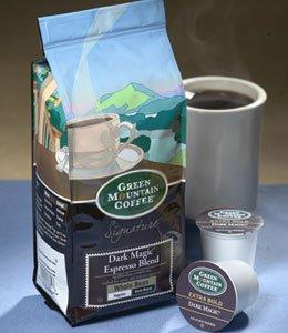 Green Mountain Dark Magic Espresso Blend, Whole Bean, 12Oz. Bag