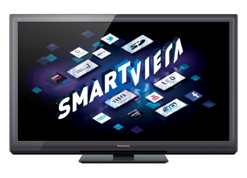 Panasonic Smart VIERA TX-P50ST30B 50-inch Full HD 1080p 3D 600Hz Internet-Ready Plasma TV with Freeview HD