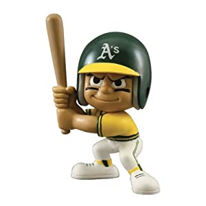 Oakland Athletics Lil Teammates - Throwback Batter by The Party Animal