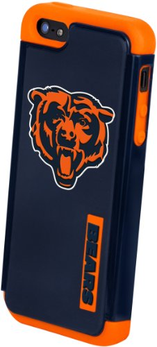 Special Sale Forever Collectibles Chicago Bears Rugged Dual Hybrid Apple iPhone 5 & 5S Case