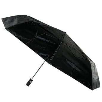 Totes Signature  golf size Auto Open/Close Umbrella, Black, One Size