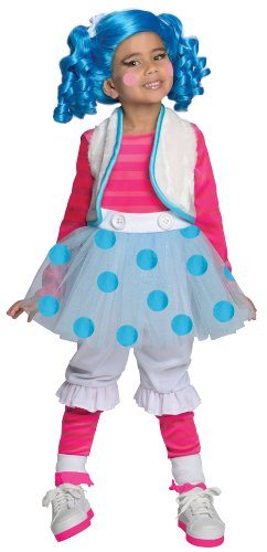 [Lalaloopsy Deluxe Mittens Fluff-N-Stuff Costume, Medium] (Lalaloopsy Costumes For Girls)