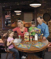 KIDS RULE STICKER SCRAMBLE (1 DOZEN) - BULK