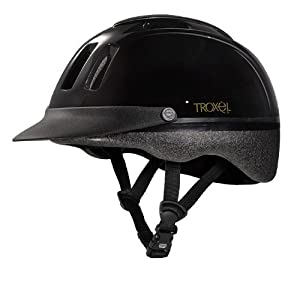 Troxel Sport Schooling Horse Riding Helmet - All Colors & Sizes (Black, Medium)