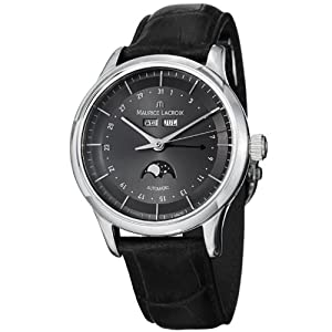 Maurice Lacroix Men's LC6068-SS001331 Les Classiqu Grey Moon Phase Dial Watch from Maurice Lacroix