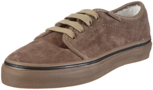 Vans Youth 106 Vulcanized Fleece Teak/Dark Gum Fashion Sports Skate Shoe Vkv3L7Z 3 Uk