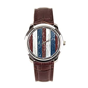 Besgirler Leather Band Watches Bless Usa Men Wrist Watches God Bless America