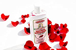 Thayers Alcohol-free Rose Petal Witch Hazel with Aloe Vera ~ 12 oz (pack of 4) Thayers-rf from Thayer's