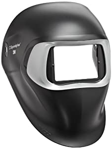 3M Speedglas Black Welding Helmet 100, Welding Safety 07-0012-00BL, without Headband and 3M Speedglas Auto-Darkening Filter by 3M