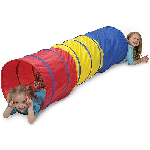 Pacific Play Tents Find-Me Multicolor Tunnel, 6\' front-770827