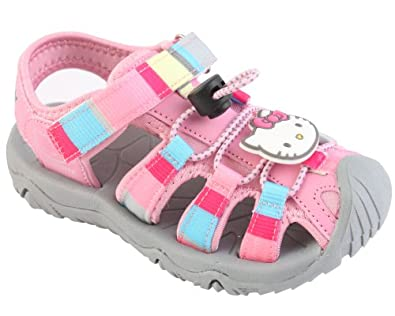 Hello Kitty Girls Water Friendly Aqua Summer Sandals Shoes (Toddler Little Kid) by Hello Kitty