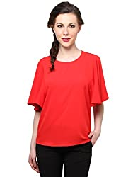 XnY Red Bell Sleeves Top