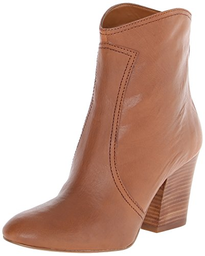 Nine West Women'S Dashiell Leather Boot,Light Brown Leather,7 M Us