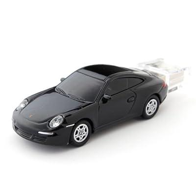 2Gb Porsche 911 Black USB Memory Stick by AutoRegalia