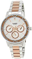 Casio Enticer Analog Multi-Color Dial Women's Watch - LTP-2087RG-7AVDF (A902)