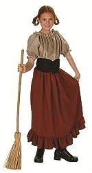 Childs Renaissance Peasant Girl Halloween Costume (Size: Large 12-14)