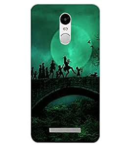 ColourCraft Printed Design Back Case Cover for XIAOMI REDMI NOTE 3