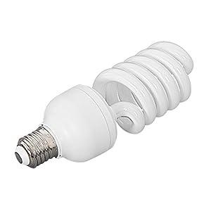 amzdeal® Fotolampe Glühlampe E27 Energiesparlampe für Fotostudio Studioleuchte 1x45W