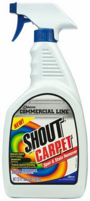 "S C Johnson WAX 71362 ""Shout"" Carpet Spots & Stain Trigger Cleaner - 32 Oz"