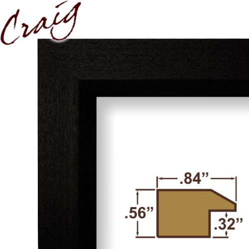 Cheap 10x29 Custom Picture Frame Poster Frame Complete Real Wood