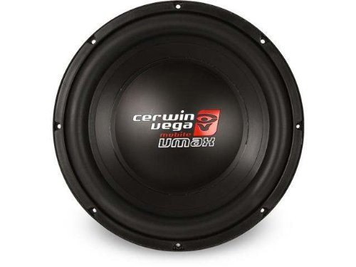 "Cerwin-Vega Vmax104.2 10"" Dual 4 Ohm Car Subwoofer 1000Watts Max Power"