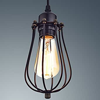 YOBO Lighting Industrial Edison Hanging Lamps Oil Rubbed