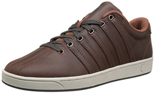 K-Swiss Men's Court Pro II C CMF Fashion Sneaker, Tortoise Shell/Beluga, 13 M US