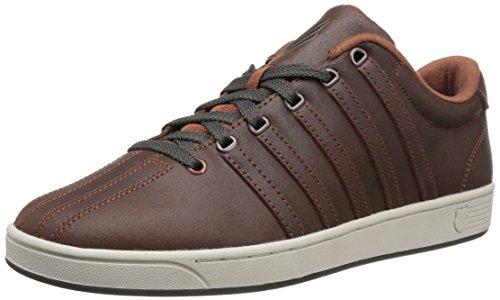 K-Swiss Men's Court Pro II C CMF Fashion Sneaker, Tortoise Shell/Beluga, 10.5 M US