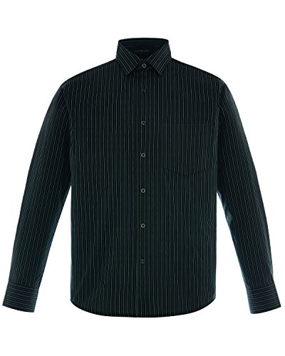 North End Align Men's Wrinkle Resistant Cotton Blend Dobby Striped Shirt.87044