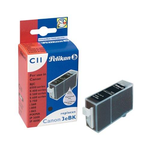 Pelikan C11 - Réservoir d'encre ( remplace Canon BCI-3eBk, Canon BCI-3Bk ) - 1 x noir - 400 pages