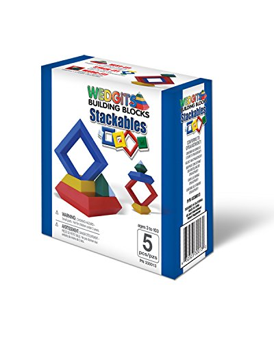 ImagAbility Wedgits Stackables 5 Piece Set
