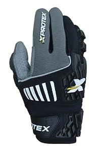 Xprotex Adult RAYKR 2014 Protective Batting Gloves, Black, Small by Xprotex