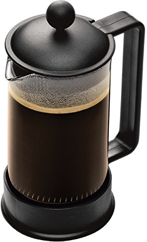 Discover Bargain Bodum Brazil 3 cup French Press Coffee Maker, 12 oz, Black