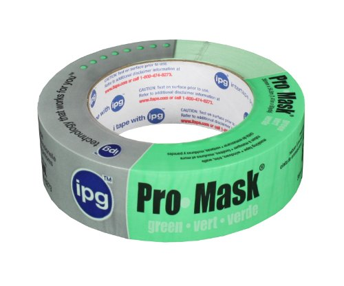 Intertape 1-.50in. Premium Grade Pro-Maschera 5804-1,5 Paintersft., colore: verde