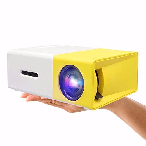 Mini-ProjectorELEGIANT-Portable-1080P-LED-Projector-Outdoor-Home-Cinema-Theater-with-PC-Laptop-USBSDAVHDMI-Input-Pocket-Projector-for-Video-TV-Movie-Party-Game-Pico-Projector-Built-in-Battery